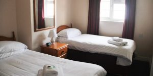 two single beds penzance