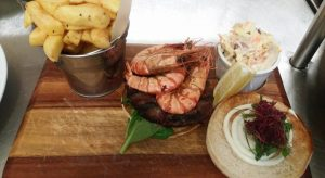 Prawns, The Yacht, Penzance